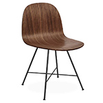 gubi 2d center base dining chair  -