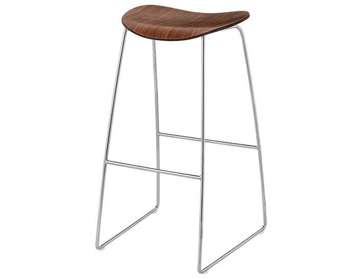 gubi 2d sled base stool