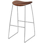 gubi 2d sled base stool  -