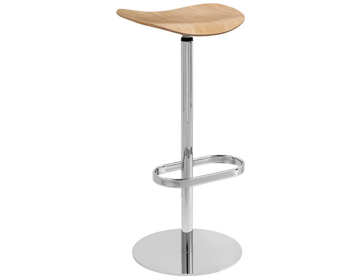 gubi 2d swivel base stool