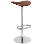 gubi 2d swivel base stool  -