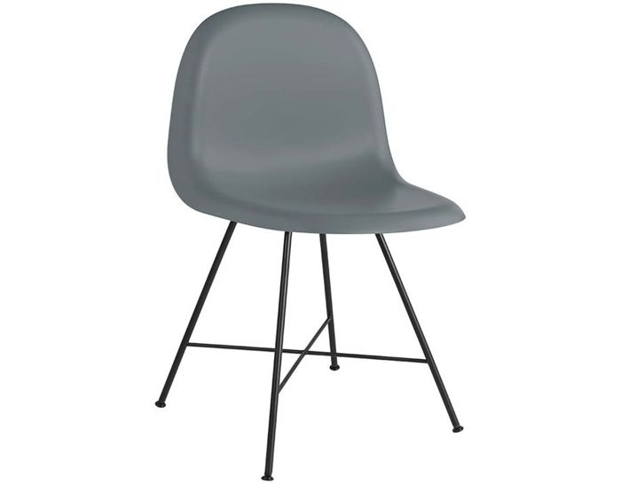 gubi 3d center base hirek dining chair