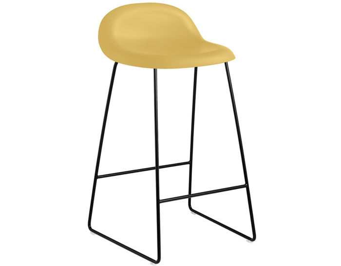 gubi 3d sled base hirek stool