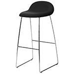 gubi 3d sled base hirek stool  - gubi