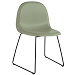 gubi 3d sled base hirek dining chair  -