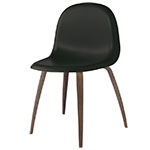 gubi 3d wood base hirek dining chair  -