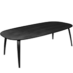 gubi elliptical dining table  - gubi