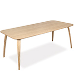 gubi rectangular dining table  - gubi