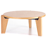 prouvé gueridon bas coffee table  -