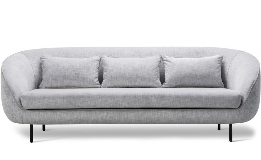 haiku low three seat sofa