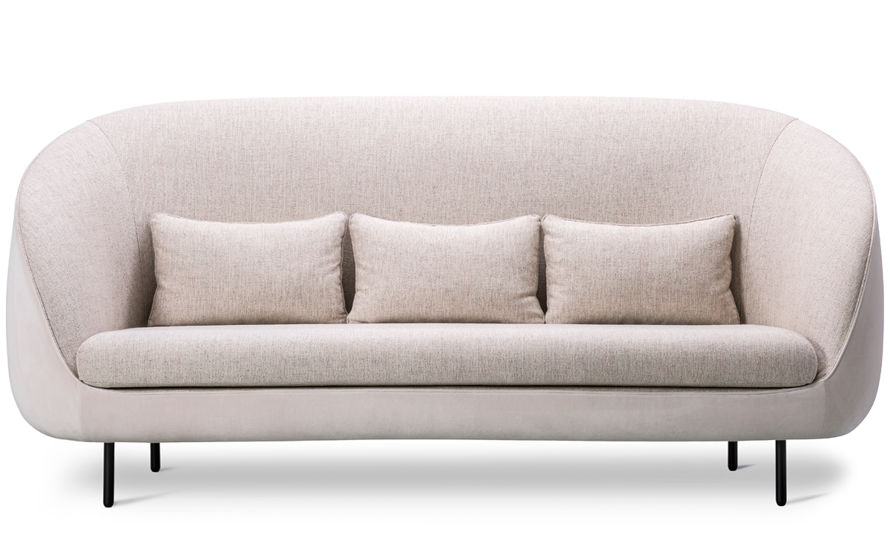 haiku tall three seat sofa