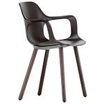 hal armchair wood  -