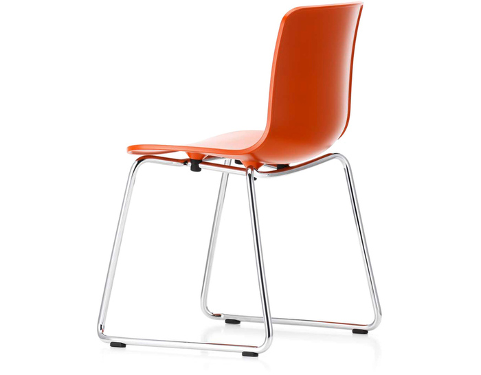 hal sled base side chair
