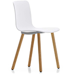 hal wood side chair  -