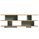 happy day shelving 3 shelf unit  - blu dot