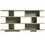 happy day shelving 4 shelf unit  - blu dot