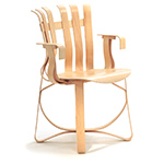 hat trick chair - Frank Gehry - Knoll