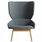 heads up lounge chair  - blu dot