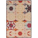 hexa rectangular rug  -