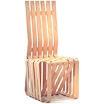 high sticking chair - Frank Gehry - Knoll