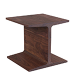 345 i-beam side table - Matthew Hilton - de la espada