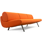 in duplo ej180-3 low sofa  - erik jorgensen