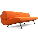 in duplo ej180-3 low sofa  - erik jorgensen