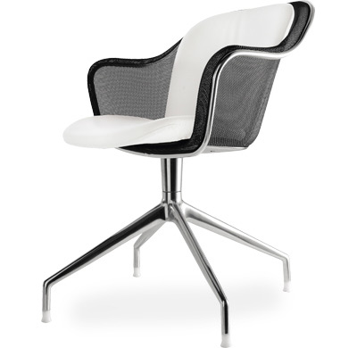 iuta 4 star armchair with upholstered seat & back