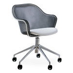iuta swivel task chair with upholstered seat