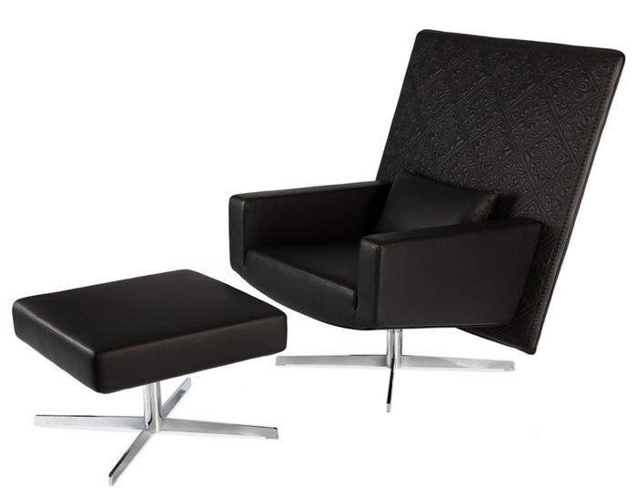 jackson lounge chair & ottoman