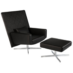 jackson lounge chair & ottoman  -