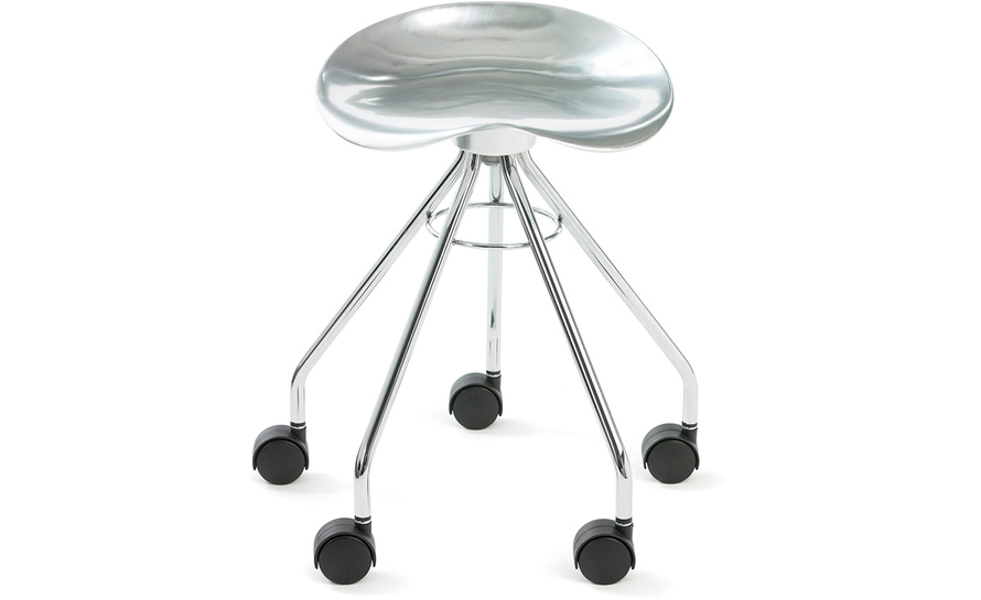 jamaica low stool on casters