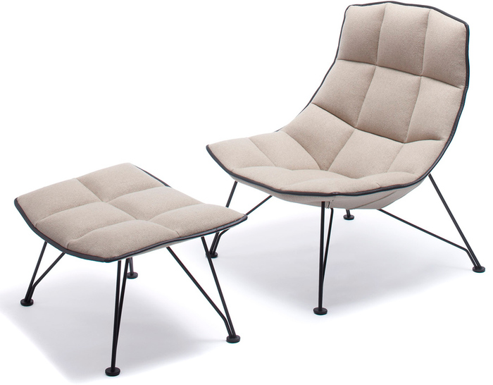 Jehs+laub Wire Lounge Chair U0026 Ottoman