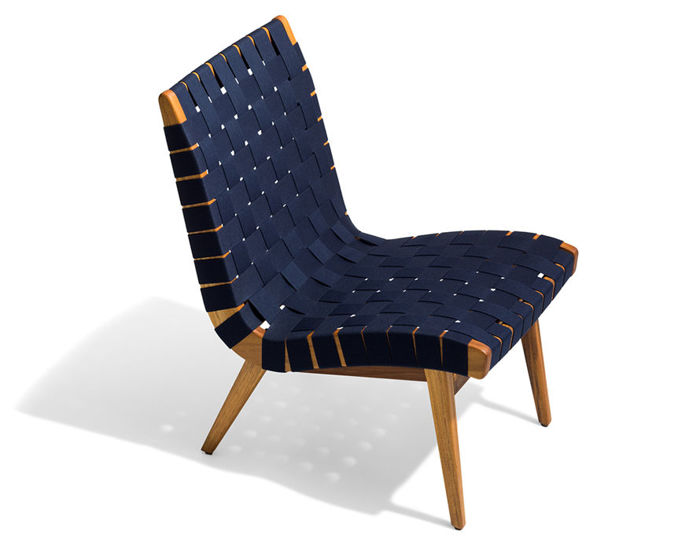 Jens Risom Outdoor Lounge Chair