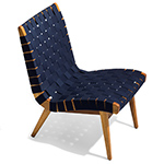jens risom outdoor lounge chair  -