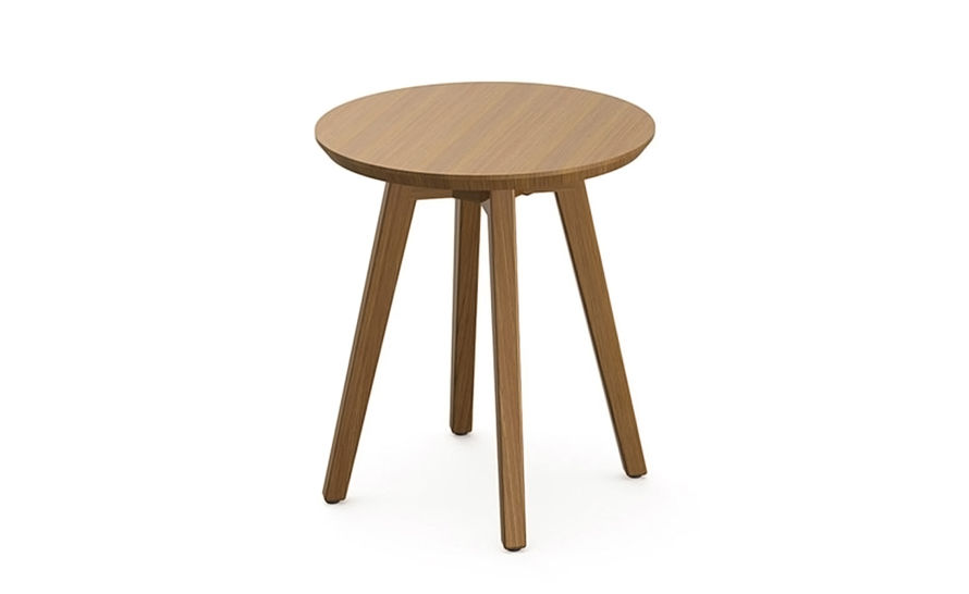 risom outdoor round side table
