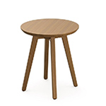 risom outdoor round side table  -