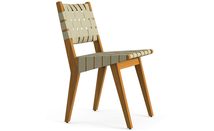 Jens Risom Outdoor Side Chair