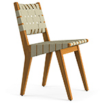 jens risom outdoor side chair  -