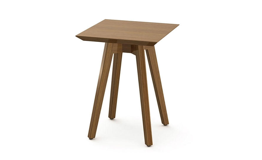 risom outdoor square side table
