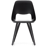 jill chair with wood base - Alfredo Haberli - vitra.