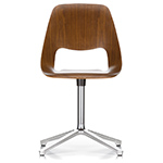 jill chair with fourstar base - Alfredo Haberli - vitra.
