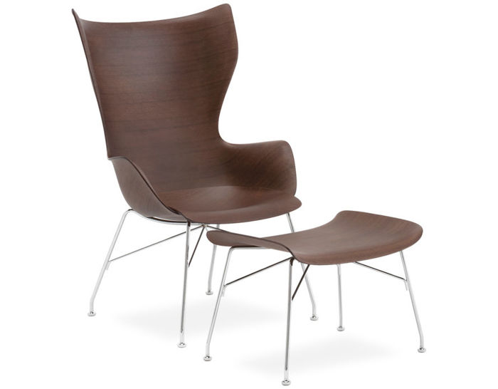k/wood lounge chair