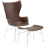 k/wood lounge chair - Philippe Starck - Kartell