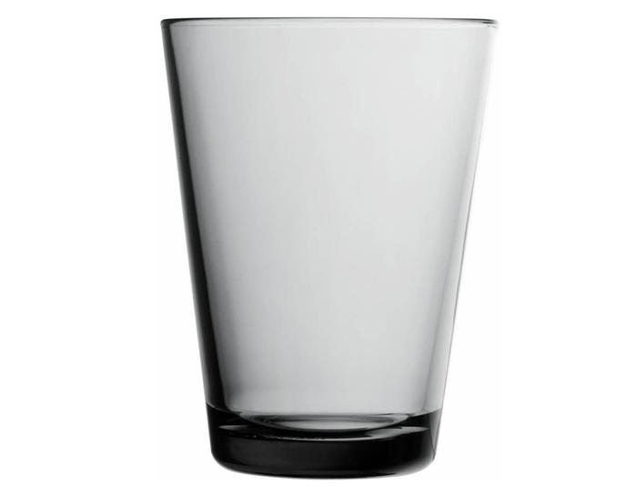 Iittala Gläser kartio 13 5oz glass tumbler 2 pack hivemodern com