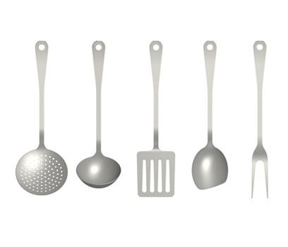 kitchen cutlery 5 piece set