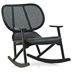 klara rocking chair with cane back  -