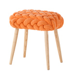 knitted stool  -