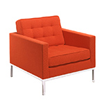 florence knoll lounge chair  -
