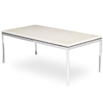 florence knoll rectangular coffee table  -